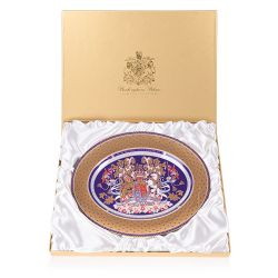 Longest Reigning Monarch Commemorative Oval Charger