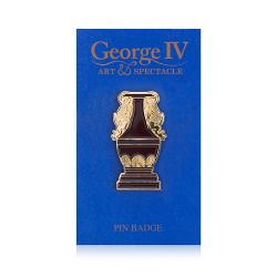 George IV Sèvres Red Vase Pin Badge