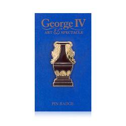 George IV Sèvres Red Vase Pin Badge