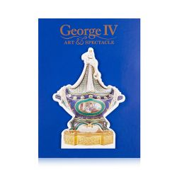 George IV Sèvres Blue Vase Notepad