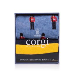 Corgi Socks Guardsman Gift Set