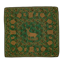 Palace of Holyroodhouse Stag Silk Scarf