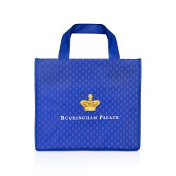 Buckingham Palace Navy Eco Shopper