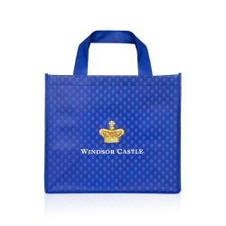 Windsor Castle Navy Eco Shopper