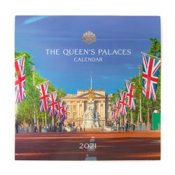 The Queen's Palaces Calendar 2021