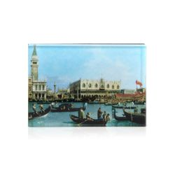 magnet depicting Canaletto's The Bacino di San Marco on Ascension