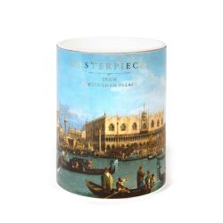 cylinder box of a jigsaw featuring a masterpiece of Canaletto
