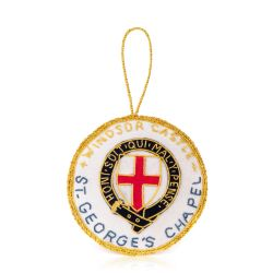 St. George's Chapel Roundel Christmas Decoration