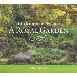 Front cover of the gardens at Buckingham Palace