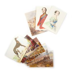Victoria and Albert Watercolour Notecard Set