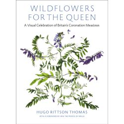 Front cover of the book 'Wildflowers For The Queen' including an image of wild flowers