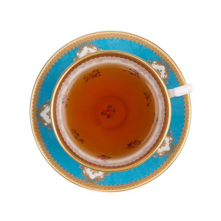 Coat of Arms teacup and saucer