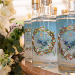 Our Buckingham Palace Dry Gin has a unique royal origin. Lemon verbena, hawthorn berries and mulberry leaves are among the 12 botanicals hand-picked for the gin in the Gardens at Buckingham Palace.