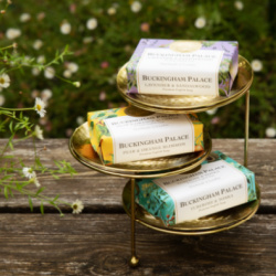 Three bespoke scents, designed and blended in London and inspired by Her Majesty, The Queen's main residence.